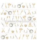 Alexandra Renke Cooking Paper 12\u0022X12\u0022-Cooking Utensils