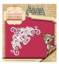 Yvonne Creations Traditional Christmas 2\u0027\u0027x3.25\u0027\u0027 Die-Bell Corner