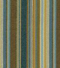 Home Decor 8\u0022x8\u0022 Fabric Swatch-Upholstery Fabric-Waverly Saddle Stripe/Denim