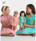 Simplicity Pattern 8349 Children\u0027s Dress & Shrug-Size A (3-4-5-6-7-8)