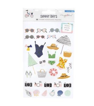 Maggie Holmes Stickerbook-Sunny Days