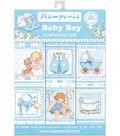 Stamperia Cards Pad 4.5\u0022X6.5\u0022 24/Pkg-Baby Boy