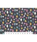 Premium Cotton Fabric 43\u0027\u0027-Patterned Triangles