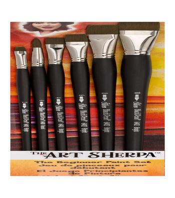 Silver Brush Limited The Art Sherpa 6 pk Beginner Brushes