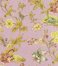 Williamsburg Lightweight Decor Fabric 54\u0022-Pondicherry/Prune
