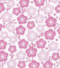 Snuggle Flannel Fabric -Cherry Blossoms