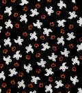 Halloween Cotton Fabric 43\u0022-Mini Ghosts And Pumpkins
