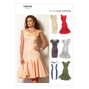 Vogue Patterns Misses Dress-V8948