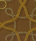 Home Decor 8\u0022x8\u0022 Fabric Swatch-Waverly Chain Reaction/Bronze