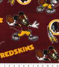 Washington Redskins Fleece Fabric-Mickey