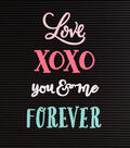 DCWV Home 4 Pack Letter Board Words-Love