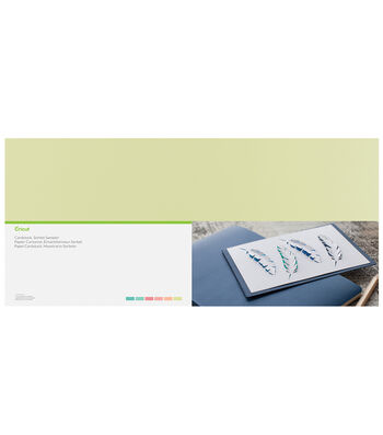 "Cricut 12""x24"" Cardboard Sampler-Pastels"