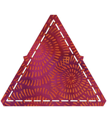 """GO! Fabric Cutting Dies-Equilateral Triangle 4-1/4"""" Sides"""