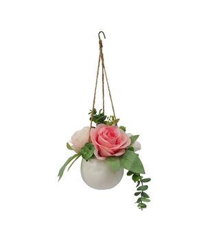Fresh Picked Spring 5.5'' Hanging Potted Arrangement