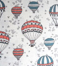 Snuggle Flannel Fabric -Air Balloons