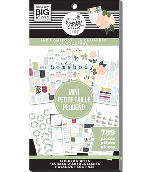 The Happy Planner Girl Mini Sticker Value Pack-Homebody