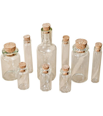 Tim Holtz Idea-Ology Corked Glass Vials