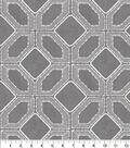 Williamsburg Multi-Purpose Decor Fabric 54\u0027\u0027-Pewter Barraud Embroidery