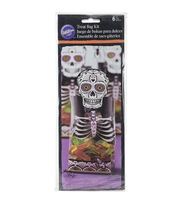 Wilton Party Bag Kit Makes 6-Skeleton, , hi-res