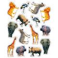 Carson Dellosa Wild Animals of the Serengeti Stickers 12 Packs