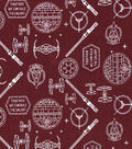 Star Wars Knit Fabric -Icons