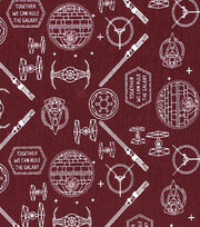 """Star Wars Knit Fabric 58""""-Icons, , hi-res"""