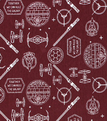 """Star Wars Knit Fabric 58""""-Icons"""