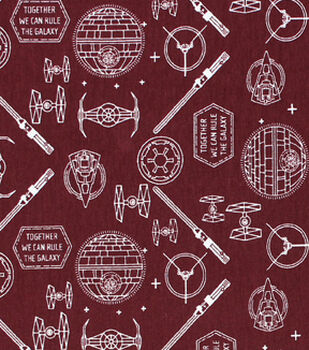Star Wars Knit Fabric 58''-Icons