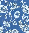 Home Dec 8\u0022x8\u0022 Swatch Fabric-Williamsburg Pelham Pomegranate Bluebell