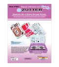 Zutter Magnetic Die & Stamp Storage Case Refill-3 Magnetic Sheets