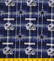 Dallas Cowboys Flannel Fabric -Logo, , hi-res
