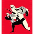 Disney Incredibles 2 No-Sew Fleece Throw 48\u0027\u0027-Family