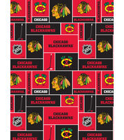 Chicago Blackhawks Cotton Fabric 43''-Block, , hi-res