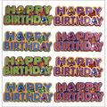 Jolee\u0027s Mini Repeats Stickers-Happy Birthday Words