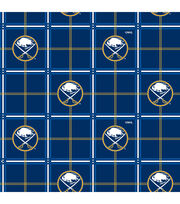 Buffalo Sabres Flannel Fabric-Box Plaid, , hi-res