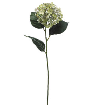 "Bloom Room 30"" Hydrangea Stem-Green"