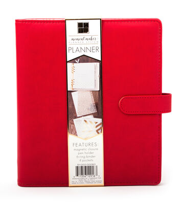 DCWV Moment Maker Planner-Red