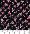 Keepsake Calico Cotton Fabric-Ditsy Floral Black