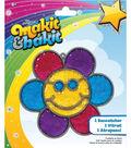 Makit & Bakit Suncatcher Kit-Glitter Smiley Face Flower