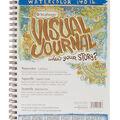 Strathmore Visual Journal Watercolor 9\u0022X12\u0022-22 Sheets