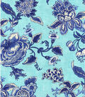 Williamsburg Print Fabric 54\u0022-Persiana/Porcelain