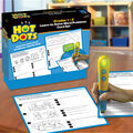 Educational Insights Hot Dots Grades 1-3 Word Problems Card Set