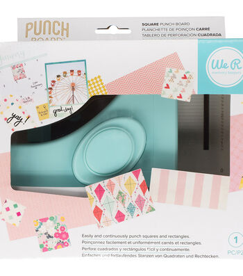 We R Memory Keepers Square Punch Board