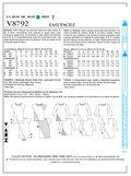 Mccall Pattern V8792 E5 (14-16--Vogue Pattern