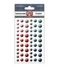 Country Cookin\u0027 Self-Adhesive Droplets 60/Pkg-Round
