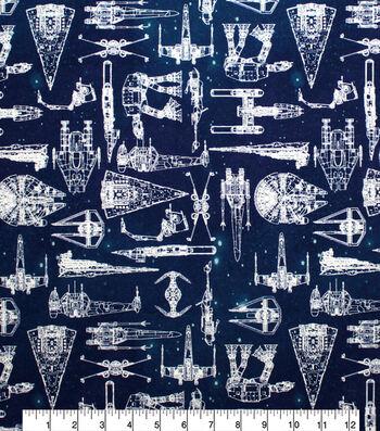 Star Wars Cotton Fabric-Galaxy