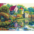 Gold Collection English Castle Counted Cross Stitch Kit
