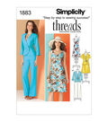 Simplicity Patterns Us1883K5-Simplicity Misses Sportswear-8-10-12-14-16