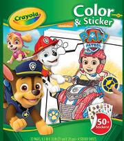 Crayola Color Sticker Book-Paw Patrol, , hi-res