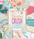 First Edition Premium Paper Pad 12\u0022X12\u0022-Paradise Crush